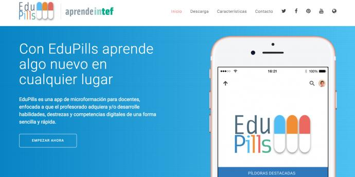 EduPills ya está disponible para su descarga
